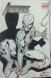 Spideysketchcover by bathill8
