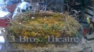 3 Brothers Theatre's The Lost World Pterosaur Nest by CrazyAsylumClown