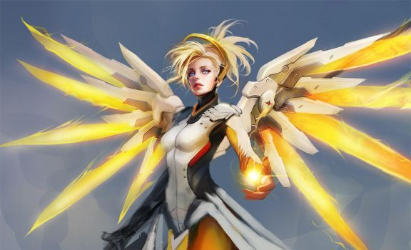 Mercy WIP by muju