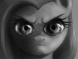 The Stare by Raikoh-illust