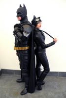Batman  Catwoman Midlands Comic Con 2017 (1) by masimage