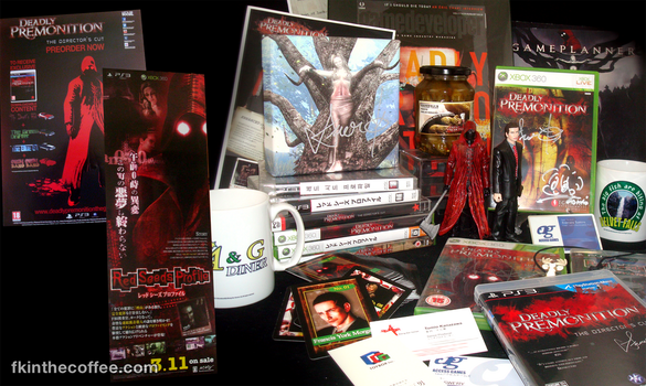 My Deadly Premonition Collection as of Oct 2014 by whitneyc