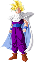 Gohan Full-Power Super Saiyan by SbdDBZ