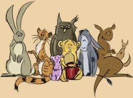 Pooh Corner by coolbyproxy