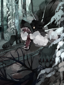 Fenrir The Almighty by Tevros