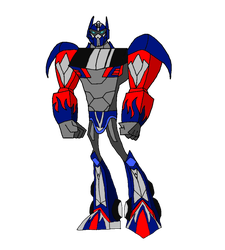 AOE/TLA Optimus prime in the TFA style by Badrater
