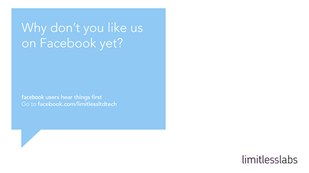 Why don't you like us on Facebook yet? by thegbdc