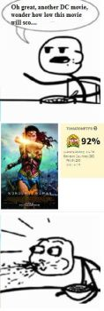 TGRebels Fan-Dumb Meme-Wonder Woman was AWESOME?? by TGrebel2