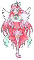 Gorgeous Cure Rosebud by darlychan