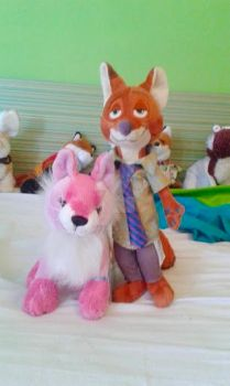 Rachel and Nick - The Wait Is Over! by Vulpes-lagopus21
