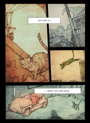 Cat-Page by haneep