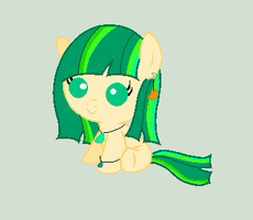 Sea Glass Filly Adoptable 10 Points (CLOSED) by pixiehannah