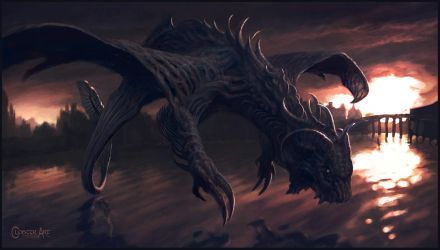 The Dragons of Water by Cloister