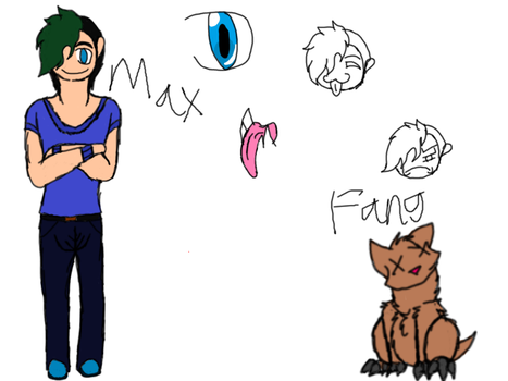 Max and fang by Isabellatheshino