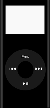 Black iPod nano by swimboy5002