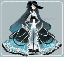 [CLOSED] Lady midnight outfits [Auction] by aririzia