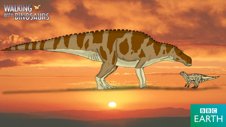 Walking with Dinosaurs: Maiasaura by TrefRex