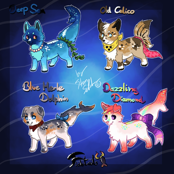 First Fishtail adopts - set price SOLD by StanHoneyThief