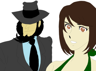 G.A.W Lupin The 3rd : Jigen and Star 2 by SweetStar17