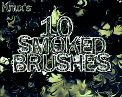 Knux's Smoked Brush Pack by Knux57
