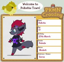 PKMN-Crossing: Dakota by BluegrassDragon