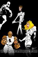 Fantastic Four New Costume Marvel by victorgrafico