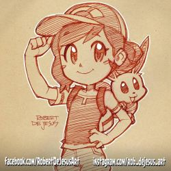 Eevee Trainer by Banzchan