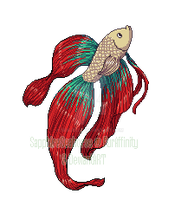 Pixel: Betta Fish by SeaJelli
