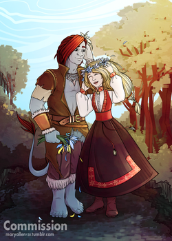 Solveig and Magnus by maryallen138