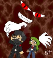 Julie and Mephisto by DarkPrince2007
