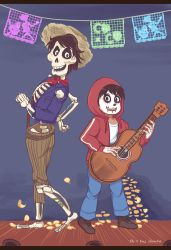 Miguel and Hector music show [Coco] by Joichiroll
