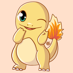 Shiny Charmander by Eriniin