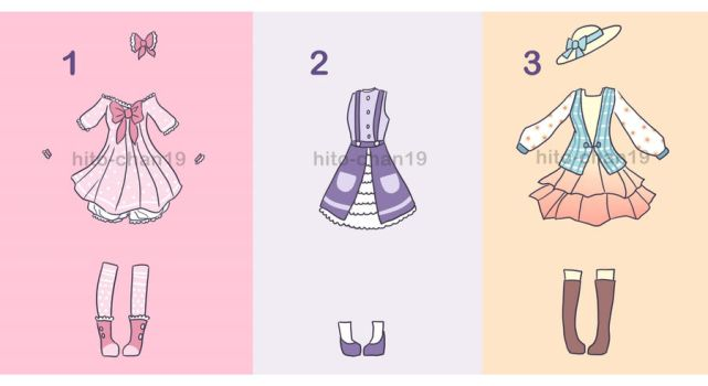 [Auction][CLOSED] Outfit Batch 2 by tinyhito
