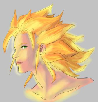 Ssjgirl super saiyan Girl version 2015 by ssjgirl