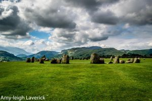 Castlerigg stone circle. by Princess-Amy