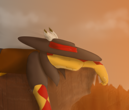 Redraw - Canyon - It's Like an anniversary lol by Halo--Cat