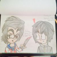 Yandere Simulator (Markiplier version) by Riyana2