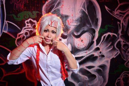 Tokyo Ghoul - Smile for your death by KURA-rin