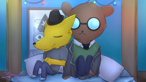 Gregg and Angus by Puzzlemebby