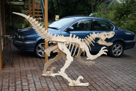 Wooden Dinosaur by StevesWoodenToys