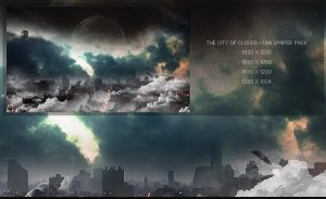 The City of Clouds. -WP Pack by Uribaani