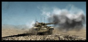 Chieftain Tank by Fisher22