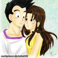 [Gift] Goten x Paresu by amethyst-rose