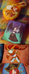 LoL pillows :3 by Musettethecat