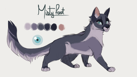 MistyFoot by Kitty-Winder