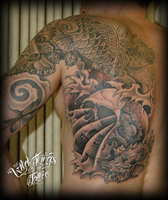 Japanese collaboration tattoo by WillemXSM