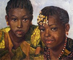 Young Africa. Sisters by Danchee