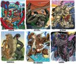 Colossal Kaiju Combat SPN 2 Trading Card Samples 7 by fbwash