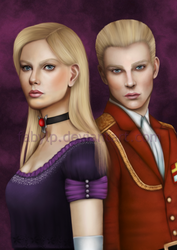 Alexia and Alfred Ashford by FabyLP