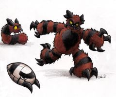 The Wooly Bear Pokemon by Sea-Salt